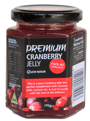 Cranberry jelly (low sugar)
